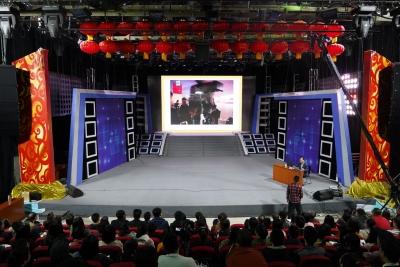 《从融媒体到智媒体——传媒业新生态》——梁刚建老师来到邯郸广电进行实战分享