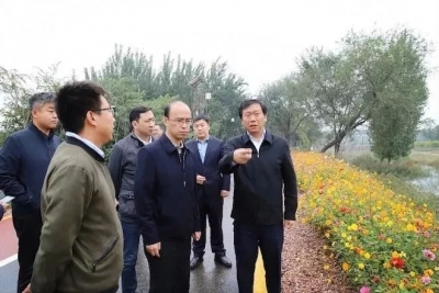 复兴区委书记潘利军冒雨调研邯西生态区建设及重污染天气Ⅱ级应急响应工作