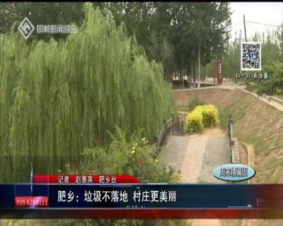 肥鄉:垃圾不落地 村莊更美麗