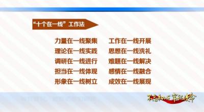 """邯郸V视  曲周:""""十个在一线""""真正解难题"""