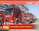 全市應急消防救援滅火現場展示活動在魏縣舉行