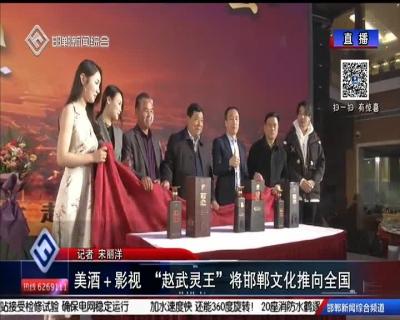 """美酒+影视 """"赵武灵王""""将邯郸文化推向全国"""