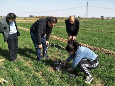 曲周推广尿酶抑制剂氮肥示范项目 促进农业氨减排