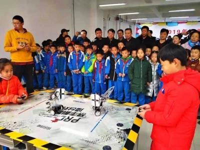 2019年邯郸市机器人锦标赛在复兴区实验小学开赛