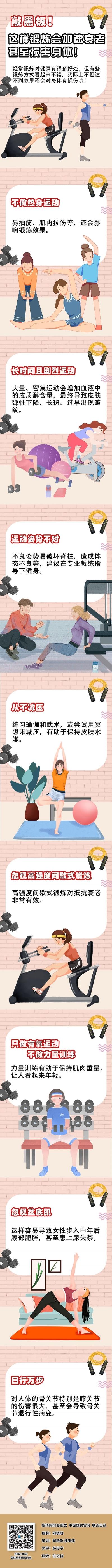敲黑板!这样锻炼会加速衰老甚至损害身体!