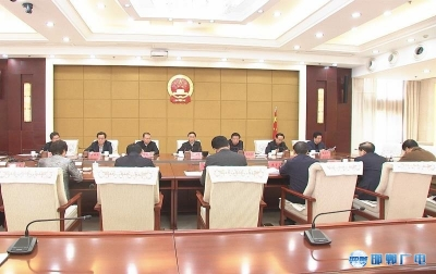 邯郸V视 | 张维亮主持召开会议 专题调度全市20项民心工程和10件民生实事进展情况