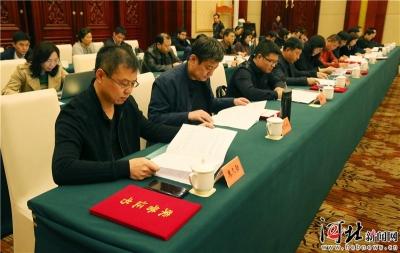 河北新闻界召开座谈会庆祝第二十个记者节