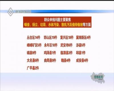 省委省政府环保督察组向我市交办第二十一批至二十二批群众信访举报问题线索