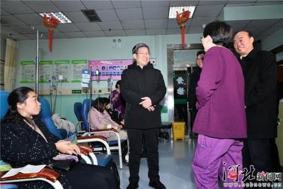 王東峰在石家莊暗訪檢查醫療衛生工作情況