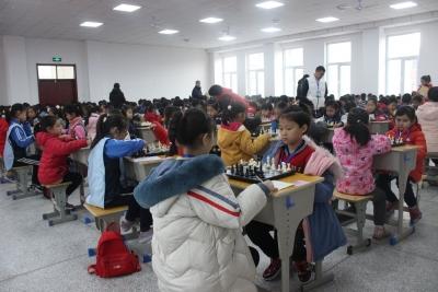 """乐在棋中,棋乐无穷——""""2019邯郸市国际象棋等级赛""""在建设北小学举行"""