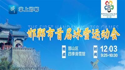 【直播】邯郸市首届冰雪运动会开幕式