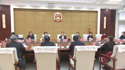 张维亮主持召开座谈会 征求各界人士代表对政府工作报告的意见建议