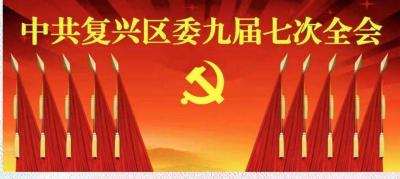 中共复兴区委召开九届七次全会