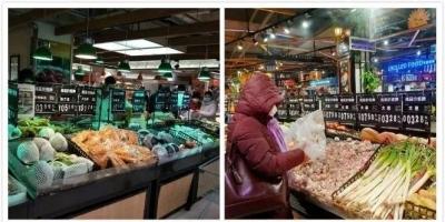 民生记者实地探访:我市阳光超市坚持营业,价格平稳保障民生供应