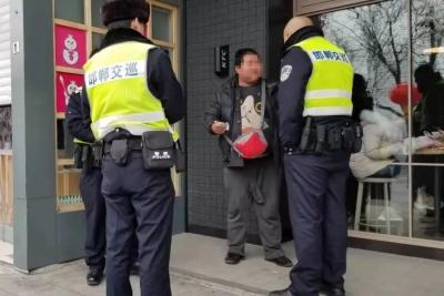 邯郸男子冷饮店盗窃 交巡警及时出警人赃俱获