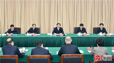 王东峰在保定市2019年度专项检查意见反馈会议上强调:扎实推进党风廉政建设和反腐败斗争