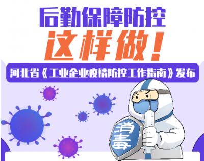 【图解】河北工业企业注意!后勤保障疫情防控这样做!