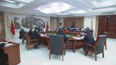 邯郸V视|全市重点项目建设和公路交通保通保畅工作调度会召开