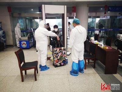 """邯郸机场首趟包机""""飞的""""飞抵深圳"""