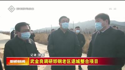 武金良调研邯钢老区退城整合项目