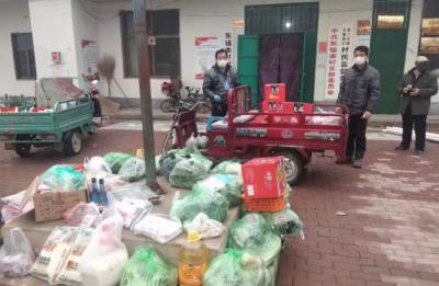 邱縣:村民家中點單 干部集中采購