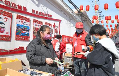 """南苏曹社区居民自发成立""""小市场"""""""