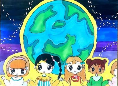看!孩子们心中的地球长这样!