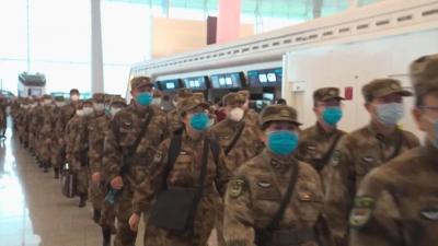 这就是军人离开时的样子……