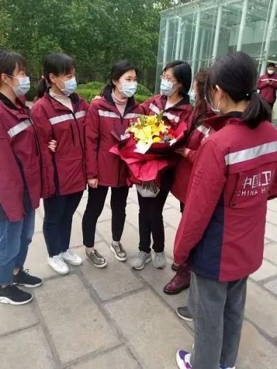 踏雪赴鄂 迎春凯旋 | 邯郸最后一名支援湖北抗疫战士郭娜娜结束隔离归队!
