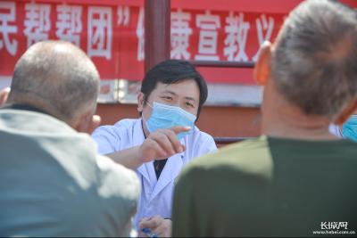 河北邯郸:医疗义诊进农村