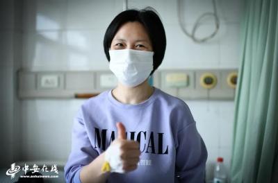 患癌援鄂护士已顺利完成手术,手术前她在手臂上写下这些话...
