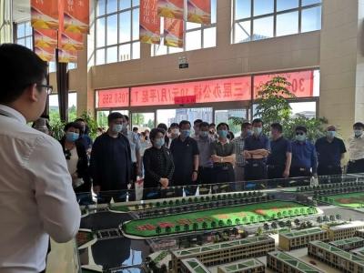 邯郸市总工会、市工商联、邯郸异地商会 到复兴区观摩生态建设考察投资环境