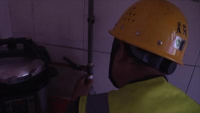 为气代煤用户 加上安全保护锁