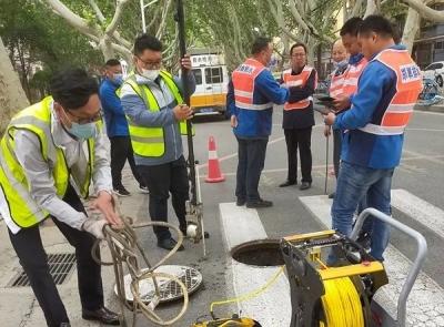 全球首款新型管网检测机器人在邯郸上岗