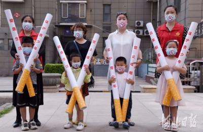"""邯郸:行为艺术倡导无烟 迎接""""世界无烟日"""""""