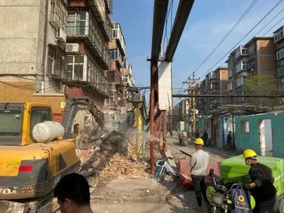 邯郸全力推进老旧小区改造
