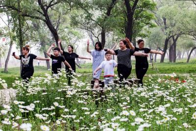 沁河郊野公园: 家门口感受生态之美
