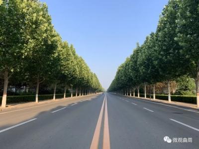 """曲周:""""四好""""農村路 搭起連心橋"""