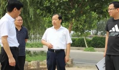 峰峰矿区区委书记陈珍礼现场督导民生工作