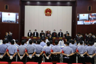 武安市人民法院依法对李宜江等19人涉黑案进行公开宣判