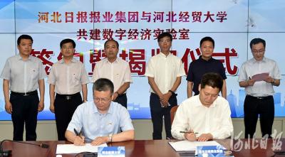 河北数字经济实验室揭牌成立