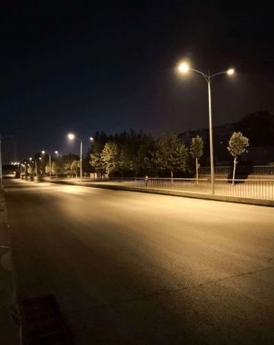 """【964回声】---市政工程管理处积极落实""""三创四建"""",邯钢路铁路地道桥路段""""全线点亮"""""""