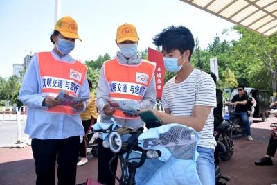 邯郸开展夏季国省道交通秩序专项整治