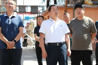 峰峰矿区区委书记陈珍礼深入街道实地检查