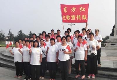"""唱支红歌给党听——广平县妇联庆""""七一""""活动"""