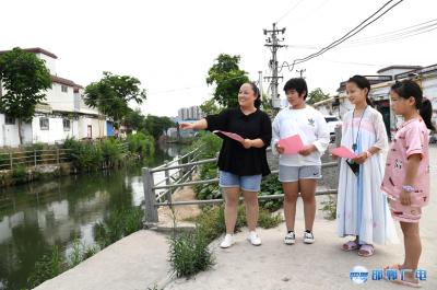 """河西社区""""三防巡查""""保障居民生活安全"""