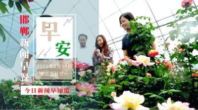 7月11日 邯郸新闻早餐(语音版)