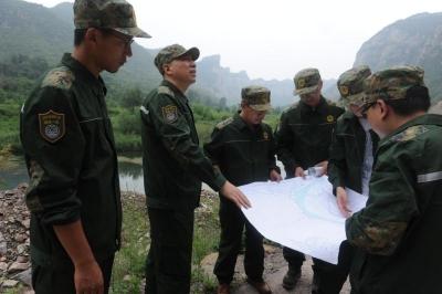 省地矿局第一地质大队开展演练,为邯郸防灾减灾救灾提供有力技术服务支撑