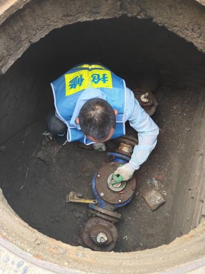 自来水公司严密排查 确保高考考点用水安全