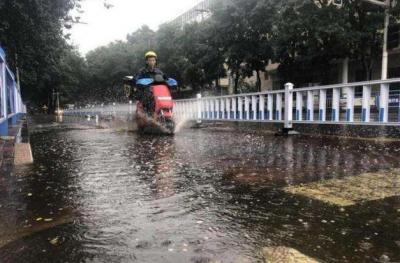 省气象台继续发布暴雨蓝色预警  今日我省多地有中到大雨